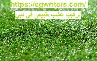 تركيب عشب طبيعى في دبي